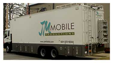 Image of JM Outdoors Mobile Production Truck.